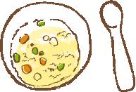 野菜たっぷりカボチャのリゾット